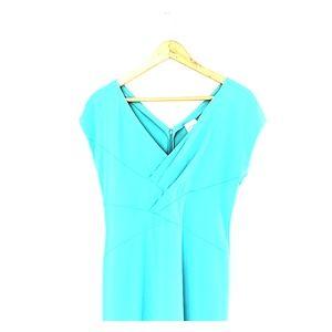 Tiffany Blue Armani Cocktail Dress